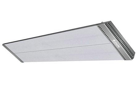 Инфракрасный обогреватель Zilon IR-2.0EN22 кВт<br>Обогреватель ZILON (Зилон)  IR-2.0EN2 использует инфракрасный спектр для осуществления обогрева, благодаря чему может успешно использоваться как в закрытых помещениях, так и на открытых площадках. Агрегат деликатно прогревает поверхности предметов, не влияет на качество воздуха, не создает посторонних шумов и неприятных запахов при нагреве. Монтаж панели универсален: вы можете закрепить еле на потолке или же на стене.<br>Особенности и преимущества инфракрасных обогревателей Zilon серии Гелиос:<br><br>Новая форма перфорации корпуса обеспечивает эффективную работу.<br>Работа по принципу солнечного обогрева.<br>Рациональное использование полезного пространства помещения; возможность монтировать прибор как на потолок, так и на стену.<br>Не сжигают кислород.<br>Скорость нагрева в 3-4 раза выше по сравнению с традиционными системами нагрева.<br>Высокая экономичность.<br>Экологичность.<br>Бесшумность.<br>Пожаробезопасность.<br>Компактный размер.<br>Долгий срок службы.<br>Возможность создать направленный поток тепла.<br>Поворотные кронштейны для моделей 3,0/4,0 в комплекте.<br>Опционально:  поворотные кронштейны для моделей  0,8/1,0/2,0.<br><br>Инфракрасные обогревательные приборы Гелиос  от компании Zilon пользуются большой популярностью у покупателей, что обусловлено их большим арсеналом достоинств. Во-первых, это полностью безопасный обогрев: инфракрасное излучение не вредит здоровью человека и животных. Во-вторых, это экономичность: ИК-обогреватели прогревают не воздух, а поверхности предметов, находящихся в рабочей зоне. Это значительно оптимизирует энергозатраты и позволяет равномерно прогреть все помещение. В-третьих, это удобство: располагая инфракрасные обогреватели на стене или потолке под определенным углом, пользователь может самостоятельно регулировать зону обогрева. <br><br>Страна: Германия<br>Производитель: Китай<br>Мощность, кВт: 2,0<br>Площадь, м?: 20<br>Класс защиты: IP20<br>Регулировка мощности: Нет<br>Вст