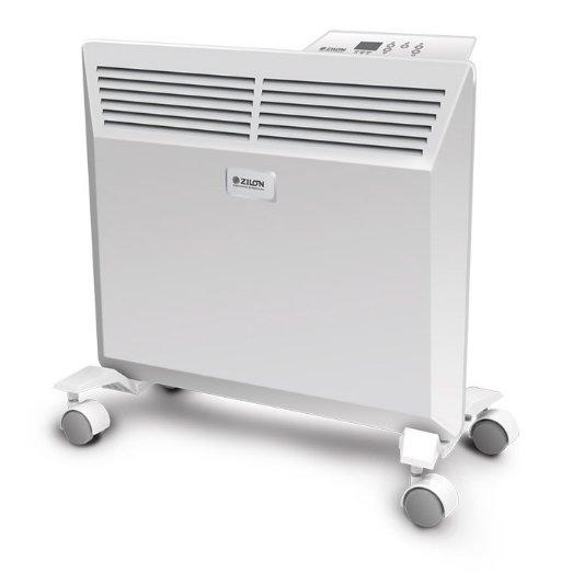 Конвектор электрический Zilon ZHC-1000 Е3.010 м? - 1.0 кВт<br>Zilon (Зилон) ZHC-1000 Е3.0   это конвекторный обогреватель с приятным визуальным решением корпуса, который, безусловно, станет для вас не просто притягательным источником долгожданного тепла, но и создателем домашней, уютной атмосферы. Модель имеет электронное управление, с помощью которого можно легко контролировать работу устройства. Площадь обогрева   до 15 квадратных метров.<br>Особенности и преимущества электрически конвекторов Zilon серии E3.0:<br><br>Усиленная конвекция и эффективность работы, благодаря особой форме корпуса конвектора который улучшает конвекцию горячего воздуха.<br>Компактные размеры прибора позволяют применять прибор для отопления в малогабаритных помещениях и делают его практически незаметным.<br>Функция отключения конвектора при отклонении от вертикали сверх нормы гарантирует полную безопасность пользователя.<br>Цельнолитая конструкция Х-образного элемента имеет ребристую структуру, что сводит к минимуму перегрев оборудования.<br>Всегда комфортная температура благодаря механическому термостату, который поддерживает температуру в помещении.<br>Обновленный дизайн конвектора - современный внешний вид и белоснежная панель с декоративным тиснением.<br>Панель управления, расположенная на корпусе, позволяет управлять прибором без применения дополнительных устройств.<br>Доработан конструктив шасси, которые теперь крепятся на защелки, без саморезов, что упрощает установку.<br>Корпус конвекторов покрыт высококачественным полимерным покрытием, устойчивым к царапинам и коррозии.<br>С влагостойким исполнением корпуса прибора - IP24 прибор можно использовать в помещениях с повышенной влажностью и обилием брызг.<br><br>Электрические конвекторы с электронным управлением Zilon серии Комфорт E3.0   это превосходное решение для эффективного обогрева помещений различного типа   как жилых, так и коммерческих (площадью от 15 до 25 квадратных метров, в зависимости от выбранного устройства). Каждая мо