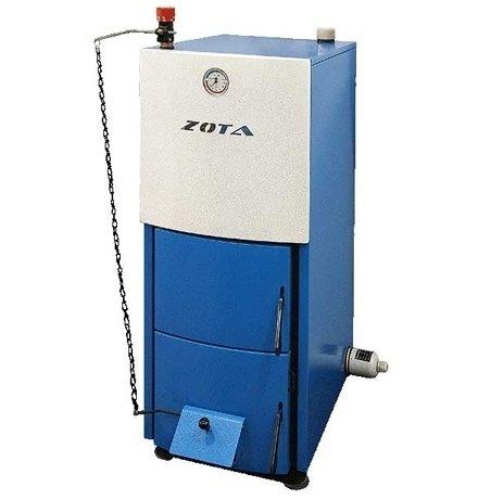 Котел Zota MIX 20 КВт20 кВт<br><br>Модель котла отопления MIX, мощностью в 20 КВт от российского бренда Zota   это современное оборудование, предназначенное для обслуживания помещений средней площади. Котел изготовлен из стали, что является гарантией долговечности оборудования. В качестве топлива возможно использовать дрова, уголь иди древесные брикеты. Кроме того, в качестве альтернативного топлива может выступать газ или электричество.<br>Основные характеристики модели рассматриваемого котла отопления серии MIX:<br><br>Универсальность в выборе топлива.<br>Сварной корпус изготовлен из высококачественной котельной стали.<br>Центральное расположение камеры загрузки топлива.<br>Удобная чистка теплообменника.<br>Высокая степень газоплотности.<br>Наличие тягорегулятора и возможность регулировки вторичного воздуха.<br>Большой объем камеры сгорания.<br>Повышенная теплоотдача.<br>Трехходовой газоход.<br>Подвижная колосниковая решетка для удобства чистки.<br>Возможность установки блок-ТЭНа мощностью от 3 до 9 кВт с пультом управления.<br>Наличие термоманометра с удобочитаемой шкалой на фронтальной части котла.<br>Высокое рабочее давление (подходит для эксплуатации закрытых систем отопления со стандартной группой безопасности на 3 атм.).<br>Зольник располагается на водоохлаждаемой поверхности, что улучшает газоплотность и повышает кпд котла.<br>Регулятор тяги поставляется в комплекте.<br><br>Предлагаем вашему вниманию линейку универсальных котлов отопления от торговой марки ZOTA,  которые помогут организовать независимую систему отопления, при этом еще и значительно сэкономить бюджет пользователя. Название серии    MIX  говорит само за себя   агрегаты исполнены таким образом, что их работа может осуществляться на любом топливе жидких или твердых сортов. Кроме того, усовершенствована и конструкция камеры сгорания, которая в устройствах данной модели имеет охлаждающую водную рубашку, максимально увеличивающую газоплотность котла. <br> <br><br>Страна бренда: Россия<br>Производс