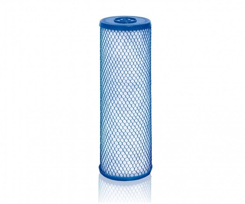 Модуль фильтра Викинг АквафорАксессуары<br>Модуль сменный фильтрующий Аквафор B150-Plus изготавливается по специальной технологии карбон-блок, благодаря чему структура фильтрующего элемента имеет идеальную плотность, а пространство заполнено волокном. Производитель усовершенствовал расположение фильтра так, что все было ориентировано на одну ось. Таким образом, цилиндр разделен на две очистные ступени, первая нейтрализует частицы размером до 20 микрон, а вторая осуществляет тонкую очистку, устраняет частицы размером до 10 микрон<br> <br><br>Страна: Россия<br>Удаление ржавчины: Есть<br>Удаление хлора: Есть<br>Удаление сероводорода: Есть<br>Удаление пестицидов: Есть<br>Удаление тяжелых металлов: Есть<br>Удаление фенола: Есть<br>Ресурс, л: 40000<br>Вес, кг: 1<br>Гарантия: Нет