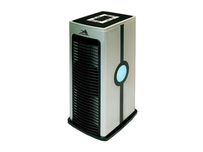 Очиститель воздуха Атмос Вент-1103Cо сменными фильтрами<br>Aтмос&amp;nbsp;&amp;ndash;&amp;nbsp;всемирно известный бренд. Под этой маркой выпускается широкий ассортимент климатической техники. Вся выпускаемая фирмой продукция отвечает самым высоким требованиям потребителей и отличается надежностью и функциональностью.<br>&amp;laquo;Вент-1103&amp;raquo; производится в Германии и характеризуется высокой степенью очистки, производящейся в 6 этапов. Сначала происходят удаление крупных частиц, чистка фильтрами, затем &amp;ndash;&amp;nbsp;ионизация и ароматизация воздуха. Количество скоростей &amp;ndash;&amp;nbsp;1. Дополнительными достоинствами являются подсветка и наличие ароматизатора. Каждый фильтр устанавливается отдельно, а для ароматизатора имеется специальный контейнер &amp;ndash; прибор очень прост и удобен в применении.<br>Устройство отличается следующими особенностями:<br>&amp;ndash;&amp;nbsp;экономичностью;<br>&amp;ndash;&amp;nbsp;высокой степенью очистки, обеспечиваемой наличием в составе четырех фильтров;<br>&amp;ndash;&amp;nbsp;ионизацией воздуха, которая может производиться строго до необходимой концентрации;<br>&amp;ndash;&amp;nbsp;низкими шумовыми характеристиками;<br>&amp;ndash;&amp;nbsp;эргономичным дизайном;<br>&amp;ndash;&amp;nbsp;простой в управлении,&amp;nbsp;достигаемой за счет удобной верхней панели, на которой расположены кнопки,&amp;nbsp;наличия инструкции по эксплуатации и&amp;nbsp;подсветки.<br><br>Страна: Германия<br>Производитель: Тайвань<br>Площадь, м?: 35<br>Воздухообмен мsup3;: 110<br>Колво режимов работы: 2<br>Сенсоры качества воздуха: Нет<br>Газоанализатор: Нет<br>Датчик пыли: Нет<br>Предварительный фильтр: Да<br>НЕРАфильтр: Нет<br>Угольный фильтр: Да<br>Электростатичный фильтр: Да<br>Плазменный фильтр: Нет<br>Фотокаталитический фильтр: Да<br>УФ лампа: Да<br>Питание, В: 220 В<br>Ионизация: Да<br>Пульт Д/У: Нет<br>Антибактерицидный фильтр: Нет<br>Шум, дБа: 32<br>Мощность, Вт: 7<br>Габариты ВхШхГ, см: 26,5х12х14<br>Вес, кг: 1<br>Гарантия:
