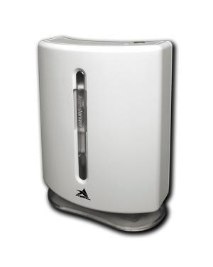 Очиститель воздуха Атмос ВЕНТ-605Без сменных фильтров<br>Очиститель-ароматизатор воздуха Атмос Вент-605 представляет собой прибор протяжной очистки воздуха. Представленная модель оснащена вентилятором, благодаря которому воздух засасывается внутрь прибора, проходит через пропитанную ароматом пластину и возвращается через выходные отверстия. Обратите внимание: в очистителе предусмотрена циклическая энергосберегающая работа.<br>Основные преимущества очистителя-ароматизатора воздуха Атмос Вент-605:<br><br>Возможность изменять запах аромата, устанавливая внутрь корпуса прибора соответствующую пластину с выбранным ароматом, либо предварительно добавив на нее несколько капель определенного ароматического масла.<br>Поток воздуха постоянно ионизируется в рекомендуемой концентрации за счет встроенного генератора отрицательных ионов кислорода. Функция ионизации - это процесс обогащения воздуха полезными ионами. Отрицательно заряженные ионы молекулы кислорода позитивно действуют на организм человека, укрепляют иммунитет, снижают утомляемость, придают бодрость и здоровье. Воздух становится целебным, как на морских курортах или в горах.<br>Предусмотрена энергосберегающая циклическая работа прибора в следующем порядке: 7 мин. 30 сек.- работа, 7 мин. 30 сек. - ожидание и т.д. Это позволяет экономить энергию и оптимально обогащать воздух полезными аэроионами.<br>Возможность питания от четырех батарей 1,5 В типа, USB порта компьютера или от сети 220В через блок питания.<br><br>Комплект поставки:<br><br>Воздухоочиститель - 1 шт.<br>Универсальный соединительный шнур и блок питания для подключения к USB порту компьютера или к сети переменного тока напряжением 220В - 1 шт.<br>Пластина для ароматизации воздуха - 4 шт.<br>Упаковочный комплект - 1 шт.<br>Инструкция по эксплуатации (руководство пользователя) - 1 шт.<br><br>Серия очистителей-ароматизаторов воздуха Вент от компании Атмос &amp;ndash; это прекрасный выбор для помещений небольших размеров. С приборами этого семейства ваш дом или