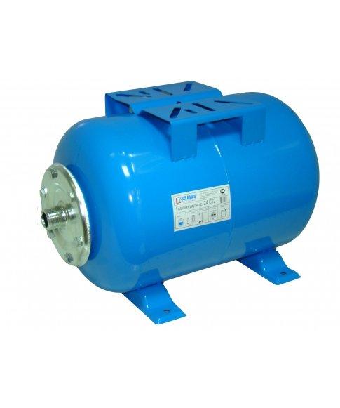 Гидроаккумулятор Беламос 50CT250 литров<br>Гидроаккумулятор Беламос 36VW представляет собой тридцатишестилитровый стальной бак с резиновой мембраной. Мембрана выполняет роль разделителя воздушной и водной сред. А также создает избыточное давление для выталкивания воды. Представленная модель выполнена в вертикальной ориентации и предназначена для горячей воды. Изделие износоустойчиво, не подвержено образования ржавчины, надежно защищено от протечек.<br>Особенности и преимущества гидроаккумуляторов от компании Беламос:<br><br>Для увеличения срока службы гидроаккумулятора бак изготавливается из стали толщиной не менее 0.8- 1.0 мм (в зависимости от размера гидроаккумулятора).<br>Модели с маркировкой VT оснащены верхним штуцером с внутренней и внешней резьбой для установки воздушного клапана.<br>Отсутствие внутренних сварочных швов бака   отсутствие риска повреждения внутренней мембраны в процессе эксплуатации.<br>Порошковая окраска внешней поверхности стального бака надёжно предохраняет его от ржавления.<br>Внутренняя мембрана изготавливается из бутиловой резины, которая в отличие от натуральной резины не гниет, не трескается. Мембрана из бутиловой резины отличается значительно большим сроком службы, чем натуральная резина.<br>Фланец крепится на болты и гайки   для надежного и герметичного подключения гидроаккумулятора к водопроводу.<br><br>Гидроаккумуляторы от компании Беламос найдут свое применение в различных видах водоснабдительных систем. Конструкция этих агрегатом достаточно проста: внутри металлического бака располагается специальная мембрана, выполненная, как правило, из прочной резины, которая служит разделителем воды и воздушной среды. Соединение мембраны с самой емкостью герметично и выполнено с помощью фланца, который оснащен штуцером для подключения к трубопроводу. Ассортимент гидроаккумуляторов Беламос представлен вертикальными и горизонтальными моделями.<br><br>Страна: Россия<br>Производитель: Китай<br>Назначение: Для холодной воды<br>Установка: Горизонта