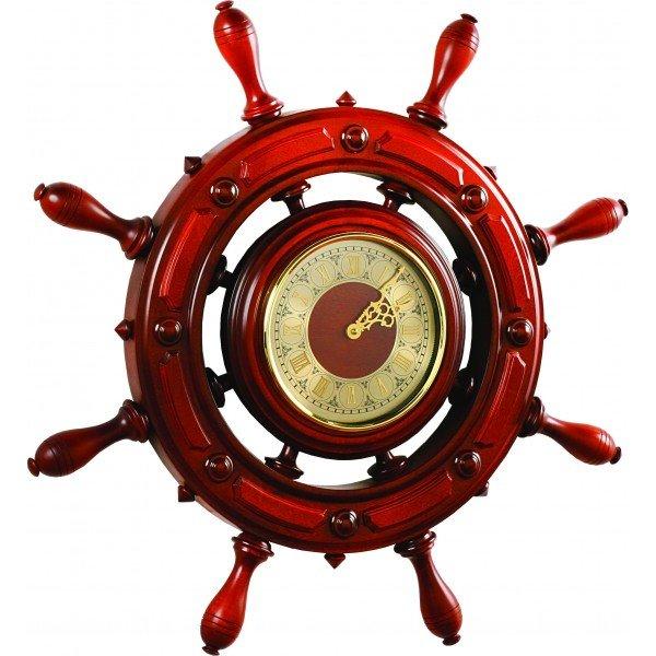 Проекционные часы Бриг+ ШЧСТ-С12/1 часы, 8 ручекЧасы без проекции<br>Бриг+ ШЧСТ-С12/1 часы, 8 ручек &amp;mdash; это хороший подарок как для себя, так и для своих родных, коллег или близких друзей, которые ценят презентабельные и дорогие вещи, в чем-то даже консервативные. Данные интерьерные часы для настенного размещения украсят любую современную квартиру, индивидуальный дом, или даже кафе с отчетливой морской тематикой. Корпус выполнен из древесины.<br>Основные достоинства данной модели сувенирных часов от компании Бриг+:<br><br>Качественные материалы изготовления (корпус &amp;ndash; высокопрочная древесина цвета &amp;laquo;барокко&amp;raquo;)<br>Встроенные часы Hermle с высокоточным механизмом<br>Количество ручек - 8<br>Диаметр циферблата 197 мм<br>Привлекательный внешний вид<br>Сохранность первозданного облика на долгие годы эксплуатации<br>Гарантия высокого качества<br>Идеальный вариант для подарка<br><br>Часы и бытовые приборы от компании Бриг+ &amp;ndash; это возможность создать неповторимую атмосферу в пределах столовой, гостиной, рабочего кабинета или библиотеки, так как каждая модель отличается индивидуальностью и оригинальным визуальным решением. Все конструкции изготавливаются из высококлассной древесины ценных пород, что действительно делает изделия максимально лаконичными и дорогими на вид.<br><br>Страна: Россия<br>Питание, В: Батарейки<br>Тип батарейки: АА<br>Колво батареек: 1<br>Адаптер к 220В: Нет<br>С будильником: Нет<br>Радиодатчик: Нет<br>С метеостанцией: Нет<br>В помещении t, С: Нет<br>За окном t, С: Нет<br>Влажность в помещении: Нет<br>Влажность за окном: Нет<br>Давление: Нет<br>Прогноз погоды: Нет<br>Габариты, мм: 700x700<br>Вес, кг: 6<br>Гарантия: 1 год