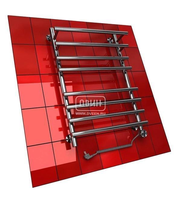 Электрический полотенцесушитель Двин F PRIMO 60/50 elЛесенка<br>Полотенцесушитель Двин&amp;nbsp;F&amp;nbsp;PRIMO 60/50&amp;nbsp;el&amp;nbsp;&amp;ndash; это новинка крупнейшей компании &amp;laquo;Двин&amp;raquo;, которая включает в себя эргономическое исполнение и долгий срок эксплуатации (более 10 лет!) Данное устройство предоставляет возможность регулировать температурные показатели в зависимости от собственных нужд в диапазоне от 20 до 60 градусов с помощью специального терморегулятора.<br>Особенности и преимущества электрических полотенцесушителей Двин серии F PRIMO el:<br><br>Залит теплоноситель Теплый Дом ЭКО. Он производится на основе европейского высококачественного пропиленгликоля и предназначен для применения в системах отопления (экологически безопасен)<br>Установлен нагревательный ТЭН Terma (производитель Польша)<br>Блок управления ТЭНом имеет очень простое управление - всего 3 кнопки: &amp;laquo;+&amp;raquo; и &amp;laquo;-&amp;raquo; и кнопка вкл/выкл.<br>Производятся с учетом особенностей нашей системы горячего водоснабжения и отопления.<br>Пищевая нержавеющая сталь - AISI 304.<br>Толщина стенки коллектора - 2 мм.<br>Давление при испытании - 40 атм.<br>Рабочая температура 30-80&amp;deg;С.<br>Питание электрической сети - 220В 50Гц.<br>Экономичное потребление энергии.<br>Тепловая мощность в зависимости от типоразмера полотенцесушителя до 790 Q-Вт.<br><br>Комплектация:<br><br>полотенцесушитель,<br>упаковка (картонная коробка, полиэтиленовый пакет),<br>гарантийный талон,<br>паспорт на изделие,<br>комплект крепежей.<br><br>Выберите свой цвет полотенцесушителя:<br>&amp;nbsp;<br>Цена указана за полотенцесушители без цветного покрытия. Для определения стоимости прибора в цвете обратитесь к менеджеру.<br>Обратите внимание! Полотенцесушитель в цвете поставляется под заказ. Срок выполнения заказа 10 дней.<br>Серия F PRIMO el &amp;ndash; это современные электрические полотенцесушители, которые предназначены для активного использования в условиях индивидуальной квар