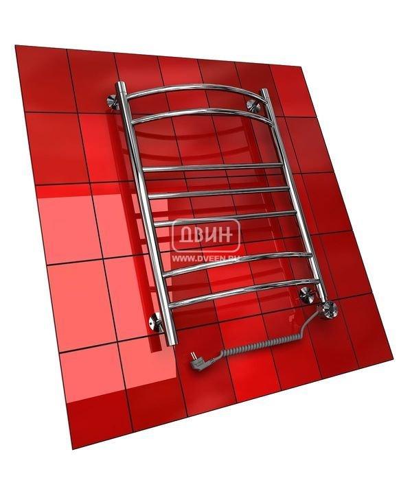 Электрический полотенцесушитель Двин G (1 - 1/2) 120/40 elЛесенка<br>Двин G (1 - 1/2) 120/40 el    это оптимальный прибор как для сушки полотенец или других вещей, так и для прогрева воздуха в ванной комнате или любом другом помещении, где необходимо разместить полотенцесушитель (а сделать это просто, потому что это оборудование не нуждается в подключении к системе горячего водоснабжения или отопления, а требует простого настенного монтажа).<br>Особенности и преимущества электрических полотенцесушителей Двин серии G el:<br><br>Залит теплоноситель Теплый Дом ЭКО. Он производится на основе европейского высококачественного пропиленгликоля и предназначен для применения в системах отопления (экологически безопасен)<br>Установлен нагревательный ТЭН Terma (производитель Польша)<br>Блок управления ТЭНом имеет очень простое управление - всего 3 кнопки:  +  и  -  и кнопка вкл/выкл.<br>Производятся с учетом особенностей нашей системы горячего водоснабжения и отопления.<br>Пищевая нержавеющая сталь - AISI 304.<br>Толщина стенки коллектора - 2 мм.<br>Давление при испытании - 40 атм.<br>Рабочая температура 30-80 С.<br>Питание электрической сети - 220В 50Гц.<br>Экономичное потребление энергии.<br>Тепловая мощность в зависимости от типоразмера полотенцесушителя до 620 Q-Вт.<br><br>Комплектация:<br><br>полотенцесушитель,<br>упаковка (картонная коробка, полиэтиленовый пакет),<br>гарантийный талон,<br>паспорт на изделие,<br>комплект крепежей.<br><br>Выберите свой цвет полотенцесушителя:<br> <br>Цена указана за полотенцесушители без цветного покрытия. Для определения стоимости прибора в цвете обратитесь к менеджеру.<br>Обратите внимание! Полотенцесушитель поставляется под заказ. Срок выполнения заказа 10 дней.<br>Сантехнические приборы из серии G el от компании  Двин  - это современные многофункциональные полотенцесушители, которые работают от электричества. Модели из данной серии подходят не только для сушки белья и других текстильных изделий, но и для насыщения комнаты теплым воздухо