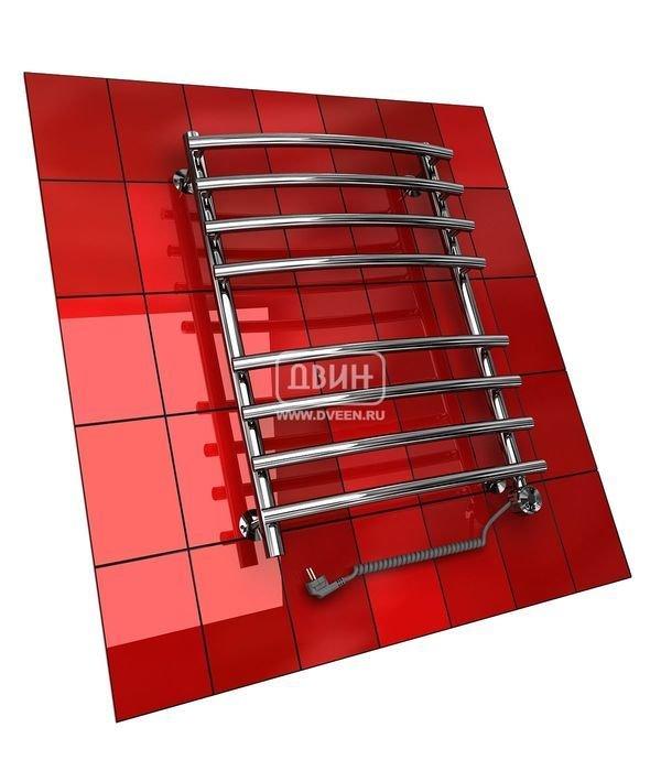Электрический полотенцесушитель Двин R PRIMO 80/50 elЛесенка<br>Пищевая нержавеющая сталь, импортный польский нагревательный элемент (ТЭН), экологически безопасный теплоноситель, созданный на основе европейского высококачественного пропиленгликоля   основные характерные особенности для электрического полотенцесушителя типа  лесенка  Двин R PRIMO 80/50 el. Производитель предусмотрел терморегулятор и (опционально) блок управления без кабеля.<br>Особенности и преимущества электрических полотенцесушителей Двин серии R PRIMO el:<br><br>Залит теплоноситель Теплый Дом ЭКО. Он производится на основе европейского высококачественного пропиленгликоля и предназначен для применения в системах отопления (экологически безопасен)<br>Установлен нагревательный ТЭН Terma (производитель Польша)<br>Блок управления ТЭНом имеет очень простое управление - всего 3 кнопки:  +  и  -  и кнопка вкл/выкл.<br>Производятся с учетом особенностей нашей системы горячего водоснабжения и отопления.<br>Пищевая нержавеющая сталь - AISI 304.<br>Толщина стенки коллектора - 2 мм.<br>Давление при испытании - 40 атм.<br>Рабочая температура 30-80 С.<br>Питание электрической сети - 220В 50Гц.<br>Экономичное потребление энергии.<br>Тепловая мощность в зависимости от типоразмера полотенцесушителя до 770 Q-Вт.<br><br>Комплектация:<br><br>полотенцесушитель,<br>упаковка (картонная коробка, полиэтиленовый пакет),<br>гарантийный талон,<br>паспорт на изделие,<br>комплект крепежей.<br><br>Выберите свой цвет полотенцесушителя:<br> <br>Цена указана за полотенцесушители без цветного покрытия. Для определения стоимости прибора в цвете обратитесь к менеджеру.<br>Обратите внимание! Полотенцесушитель в цвете поставляется под заказ. Срок выполнения заказа 10 дней.<br>Одним из главных преимуществ электрических полотенцесушителей из серии R PRIMO el от производственной компании  Двин  является возможность установить прибор в любом помещении, для этого не потребуется подключение к системе горячего водоснабжения или отопления. Кажд