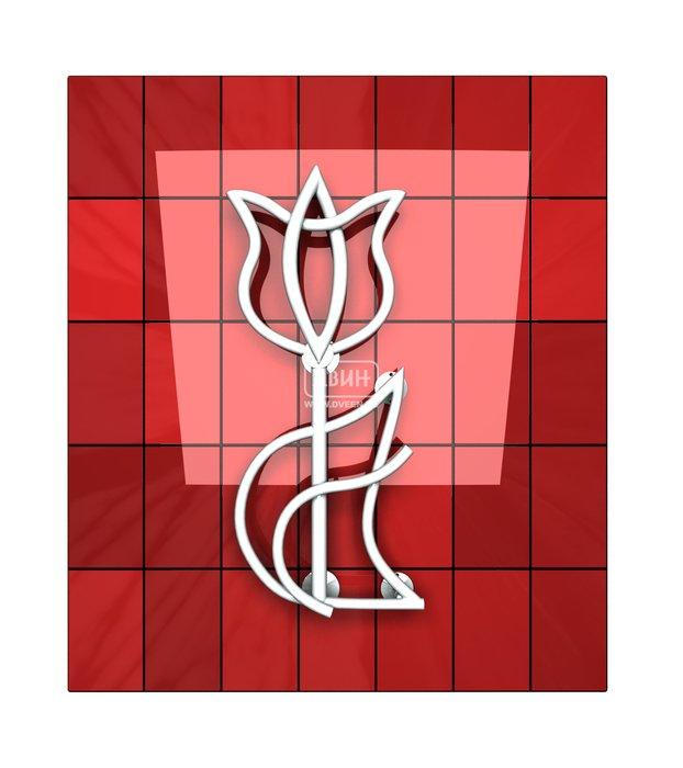 Дизайнерский полотенцесушитель Двин Tulip 716/343Лесенка<br>Двин Tulip 716/343   это дизайнерский водяной полотенцесушитель, форма которого напоминает тюльпан. Оригинальное решение для современных ванных комнат, функциональный прибор, способный привнести в интерьер еще больше привлекательности. Выполнен Российский дизайн-полотенцесушитель из стальной высокопрочной трубы. По заказу покупателя может изготавливаться и с гладкой поверхностью, и с фактурной поверхностью twist. Люксовая линейка дизайн-полотенцесушителей Двин   это оригинальный дизайн, высочайшее качество и невероятная долговечность. <br><br>Страна: Россия<br>Производитель: Россия<br>Тип: Водяной<br>Форма: Асимметричный<br>Цвет: Мульти<br>РазмерыВШ, мм: 716x343<br>Межосевое расст., мм: None<br>Подключение: Боковое<br>Min давление: 8<br>Max давление: 24,5<br>Вес, кг: 5<br>Гарантия: 3 года