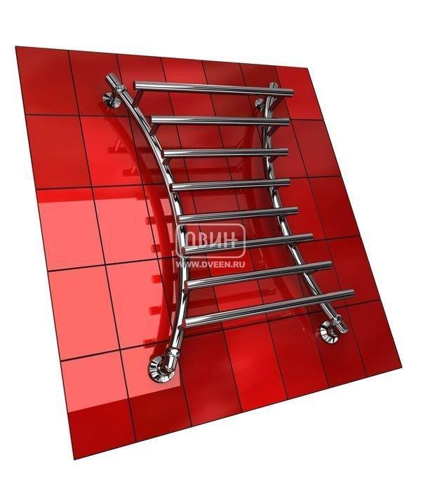 Водяной полотенцесушитель лесенка Двин X PRIMO 80/60Лесенка<br>Прочная стальная труба стала материалом для изготовления функционального и практичного  полотенцесушителя Двин X PRIMO 80/60. Эта модель водяная: агрегат подключается к централизованной системе ГВС и берет тепловую энергию от горячей воды. Такое конструктивное решение обусловило экономичность использования полотенцесушителя из серии X PRIMO.<br>Особенности и преимущества водяных полотенцесушителей Двин серии  X PRIMO<br><br>Полотенцесушитель оборудован клапаном Маевского (находится под декоративным колпачком), что позволяет без труда удалить образовавшуюся воздушную пробку<br>Количество перекладин зависит от высоты полотенцесушителя<br>Пищевая нержавеющая сталь марки AISI304<br>Толщина стенки коллектора:  2,0 мм<br>Давление при испытании:  40 атм<br>Максимально возможная температура воды 110 С<br>Маркировка:  Фирменная голограмма и лазерная гравировка номера партии<br>Тепловая мощность, в зависимости от типоразмера полотенцесушителя, составляет до 670 Q-Вт<br>Срок службы более 10 лет<br><br>Комплектация:<br><br>полотенцесушитель<br>упаковка (картонная коробка, полиэтиленовый пакет)<br>гарантийный талон<br>паспорт на изделие<br>фитинги:<br><br><br>клапан Маевского   2 шт,<br>декоративный колпачок   2 шт,<br>крепеж телескопический   1 шт,<br>уголок гайка/гайка 1/  ,<br>отражатель глубокий  ,<br>эксцентрик   /  .<br><br>Выберите свой цвет полотенцесушителя:<br> <br>При заказе в цвете вся фурнитура и краны тоже будут окрашены в цвет.<br>Цена указана за полотенцесушители без цветного покрытия. Для определения стоимости прибора в цвете обратитесь к менеджеру.<br>Обратите внимание! Товар поставляется под заказ. Срок выполнения заказа 10 дней.<br>Двин X PRIMO   это еще одна серия водяных полотенцесушителей от отечественного бренда-производителя. Форма приборов достаточно необычна: она напоминает букву  Х , а несколько верхних перекладин у каждого агрегата выдвинуты вперед. Полотенцесушители длительное время сохр