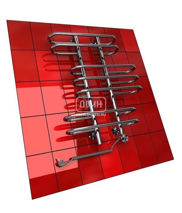Электрический полотенцесушитель Двин Z (1 - 1/2) 100/50 elЛесенка<br>Двин&amp;nbsp;Z (1 - 1/2) 100/50&amp;nbsp;el&amp;nbsp;&amp;ndash; это электрический полотенцесушитель с максимальной температурой поверхности 60 градусов, который имеет импортный нагревательный элемент и терморегулятор, позволяющий контролировать устройство. В прибор залит экологически безопасный теплоноситель. Предусмотрен простой блок управления ТЭНом с тремя кнопками. Срок службы &amp;ndash; более 10 лет.<br>Особенности и преимущества электрических полотенцесушителей Двин серии Z el:<br><br>Залит теплоноситель Теплый Дом ЭКО. Он производится на основе европейского высококачественного пропиленгликоля и предназначен для применения в системах отопления (экологически безопасен)<br>Установлен нагревательный ТЭН Terma (производитель Польша)<br>Блок управления ТЭНом имеет очень простое управление - всего 3 кнопки: &amp;laquo;+&amp;raquo; и &amp;laquo;-&amp;raquo; и кнопка вкл/выкл.<br>Производятся с учетом особенностей нашей системы горячего водоснабжения и отопления.<br>Пищевая нержавеющая сталь - AISI 304.<br>Толщина стенки коллектора - 2 мм.<br>Давление при испытании - 40 атм.<br>Рабочая температура 30-80&amp;deg;С.<br>Питание электрической сети - 220В 50Гц.<br>Экономичное потребление энергии.<br>Тепловая мощность в зависимости от типоразмера полотенцесушителя до 660 Q-Вт.<br><br>Комплектация:<br><br>полотенцесушитель,<br>упаковка (картонная коробка, полиэтиленовый пакет),<br>гарантийный талон,<br>паспорт на изделие,<br>комплект крепежей.<br><br>Выберите свой цвет полотенцесушителя:<br>&amp;nbsp;<br>Цена указана за полотенцесушители без цветного покрытия. Для определения стоимости прибора в цвете обратитесь к менеджеру.<br>Обратите внимание! Полотенцесушитель поставляется под заказ. Срок выполнения заказа 10 дней.<br>В серии Z el каждая модель электрического полотенцесушителя учитывает пожелания покупателя и может быть подобрана в соответствии с его предпочтениями &amp;ndash; можно самостоятельно вы
