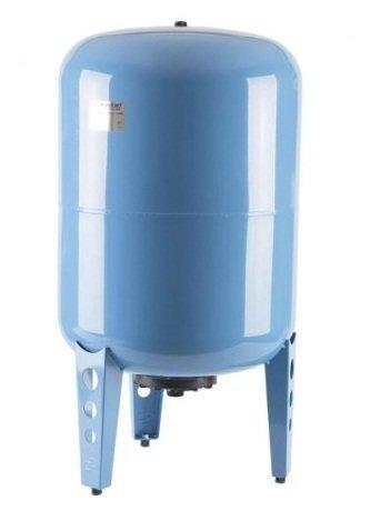 Гидроаккумулятор Джилекс 100 ВП100 литров<br>Гидроаккумулятор 100 ВП   ёмкость под давлением, используется в системах напорного водоснабжения и выполняет ряд функций. Вода накачивается в ёмкость, которая разделена мембраной из специального каучука, таким образом, предотвращается частое включение насоса, что увеличивает его рабочий ресурс. <br>Особенности оборудования 100 ВП:<br><br>Мембраны, используемые в гидроаккумуляторах, можно заменять;<br>Назначение: накапливание воды под давлением, снижение вероятности гидроударов в системе, обеспечение запаса воды;<br>Предохраняет насосное оборудование от частого включения;<br>Гидроаккумулятор рекомендован для насосов мощностью выше 1000 Вт;<br>Выбор аккумулятора для воды зависит от мощности насоса,<br>Материал мембраны   каучук специального назначения (бутилкаучук);<br>На бак можно устанавливать насос   наличие креплений;<br>2 модификации   с пластиковым и металлическим фланцем;<br>Для вертикальной установки;<br>Предназначен для работы с чистой водой.<br><br>Гидроаккумуляторы выполняют важную роль в системах водоснабжения с электрическими насосами. Насосное оборудование, используемое для подачи воды, бывает различных типов, поэтому учитывая особенности работы насосов, гидроаккумуляторы также имеют различную конструкцию. К примеру, для поверхностных насосов часто используют горизонтальные гидробаки, на которых для удобства установки предусмотрены крепления для насоса. А вот для погружного насосного оборудования требуется больший объем бака, что обуславливается частотой его включения. <br><br>Страна: Россия<br>Производитель: Россия<br>Назначение: Для холодной воды<br>Установка: Вертикальный<br>Объем бака, л: 100<br>Запас воды, л: None<br>Мембрана: Заменяемая<br>Цвет: Голубой<br>Рабочая темп., С: +1 до +35<br>Рабочее давление, бар: 2<br>Max давление, бар: 8<br>Габариты ВхШхГ, см: 840х450<br>Вес, кг: 11<br>Гарантия: 1 год