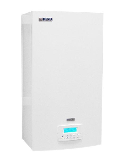 Котел Эван EXPERT -1212 кВт<br>Электрокотел ЭВАН EXPERT -12 применяется на участках бытового или коммерческого типа и характеризуется высокими и стабильными показателями производительности в течение всего срока эксплуатации. Рассматриваемая модель имеет возможность работать в умном автоматическом режиме, тем самым обеспечивая высокий комфорт пользователя при использовании котла.<br>Главные преимущества и особенности рассматриваемой модели котла отопления:<br><br>встроенный циркуляционный насос<br>расширительный бак на 12 литров<br>автоматический воздухоотводчик<br>встроенный программатор суточной и недельной температуры воздуха помещения<br>графический дисплей с интуитивно понятной навигацией по настройкам и режимам работы<br>возможность подключения модулей дистанционного управления (GSM/Wi-Fi Climate)<br>управление котлами, стоящими в каскаде<br>управление горячим водоснабжением   переключение клапана, направляющего поток теплоносителя в косвенный водонагреватель (приобретается отдельно)<br>самодиагностика неисправностей, архивирование времени и кодов ошибок<br>наличие уникального режима отладки, в рамках которого можно проверить срабатывание каждого из органов управления котла<br><br>Компания ЭВАН отлично поработала над серией  EXPERT    современными теплоснабжающими агрегатами бытового типа. Серия представлена котлами различной мощности, как небольшой (7,5 кВт), так и достаточно высокой (27,0 кВт). Представленные котлы могут успешно применяться в автономных системах как с принудительной, так и с гравитационной циркуляционной системой. Весь модельный ряд оснащен удобным регулирование мощности в зависимости от погодных условий, что гарантирует экономичный расход электрической энергии.  <br><br>Страна: Россия<br>Производство: Россия<br>Режим работы: Отопление<br>Тип установки: Настенная<br>Колво нагревательных тэнов: 3<br>Номинальный ток, A: 25<br>Потребляемая мощность, Вт: 12000<br>Площадь отопления, м?: 120<br>Max полезная мощность, кВт: 12,0<br>Min полезная мощно
