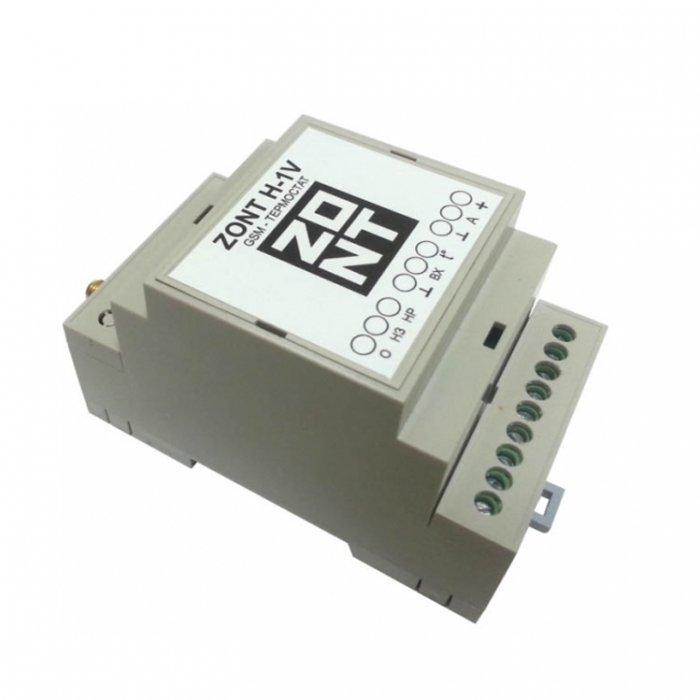 Термостат Эван GSM-Climate ZONT-H1V DINАксессуары<br><br><br>Страна: Россия<br>Производитель: Россия<br>Дисплей: Нет<br>Вес, кг: 1<br>Гарантия: 1 год