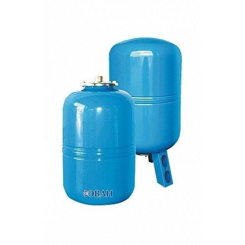 Расширительный бак Эван WATV 1212 литров<br>Эван WATV 12 представляет собой модель небольшого расширительного резервуара, предназначенного для приема излишков жидкости в системах водоснабжения. Емкость осуществляет надежную защиту системы от разрушения в последствие гидравлического удара. Резервуар изготовлен из прочной стали и оборудован резиновой мембранной, пригодной для замены.<br><br><br>Особенности и преимущества:<br><br>Предназначены для поддержания рабочего давления и предотвращения разрушения системы от гидравлического удара.<br>Корпус бака сделан из высококачественной стали.<br>Мембрана выполнена из специальной резины и является сменной.<br>Баки свыше 750 литров комплектуются манометрами.<br>Температурный режим работы до +100 оС.<br>Давление воздушной полости   1,5 бар.<br><br>Баки WATH/ WATV   это современное решение для компенсации избыточного давления в водоснабжающих системах, как с холодной, та и с горячей водой. Линейка разработана компанией Эван, которая отлично поработала над конструкцией устройств и снабдила их сменными мембранами. Серия весьма разнообразна не только по вместительности баков, но и по исполнению: имеются горизонтальные и вертикальные модели.<br><br>Страна: Россия<br>Производитель: Россия<br>Объем, л: 12<br>Рабочая темп. С: +1...+100<br>Давление, бар: 1,5<br>Max рабочее давление, бар: 10<br>Покрытие бака: Нерж. сталь<br>Присоединительный диаметр, мм: 3/4<br>Габариты ВхШхГ, мм: 307х280х280<br>Вес, кг: 4<br>Гарантия: 1 год<br>Ширина мм: 280<br>Высота мм: 307<br>Глубина мм: 280