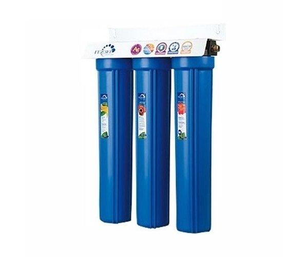 Корпус Гейзер 3И20BB (без картриджей)Магистральные<br>Данная модель представляет собой набор пластиковых корпусов и поставляется без наполнителей. При комплектации с сорбентами фильтрующая система для обработки воды 3И20BB от производителя Гейзер может работать с большим объемом холодной (не более 40оС) воды преимущественно на дачах, в домах и коттеджах, устанавливаясь к колодцам и небольшим скважинам. Также данное изделие можно самостоятельно укомплектовать картриджами для обезжелезивания или для умягчения воды. Обезжелезивающий картридж будет удалять растворенное железо и марганец, осадочный картридж сможет производить очистку от ржавчины и взвешенных частиц.<br>Торговая марка Гейзер располагает широким ассортиментом фильтров для воды, встраиваемых в магистраль. На страницах нашего онлайн-каталога посетители смогут найти решения как для холодной, так и горячей воды, для глубокой или механической очистки, умягчающие и неизменно высокоэффективные, производительные, удобные, современные и долговечные. Кроме того, торговая марка Гейзер в своей продукции смогла сочетать все эти преимущества с весьма демократичной ценой, что делает их магистральные фильтры конкурентоспособными и невероятно популярными на российском рынке.<br><br>Страна: Россия<br>Колво степеней очистки: 3<br>Фильтрация, л/м.: 10<br>Емкость, л: None<br>Раб. давление, атм: 7<br>Раб. температура, С: +4...+40<br>Умягчение: None<br>Минерализатор: None<br>Очистка от хлора: None<br>Очистка от тяжелых металлов: None<br>Очистка от ржавчины: None<br>Очистка от пестицидов: None<br>Очистка от фенола: None<br>Габариты, мм: 185x600x185<br>Вес, кг: 5<br>Гарантия: 1 год<br>Ширина мм: 600<br>Высота мм: 185<br>Глубина мм: 185