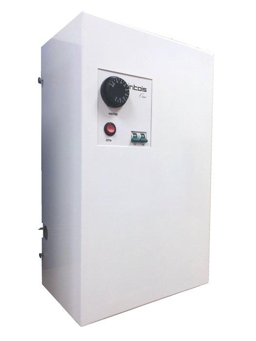 Котел Интойс One 66 кВт<br>Автоматическое электронагревательное котельное оборудование Интойс One 6   это надежный аппарат, который позволит осуществить отопление внутри жилых или торговых сооружений, где люди нуждаются в комфортных климатических условиях. Устройство насыщает теплым воздухом помещения площадью до 60 квадратных метров. Емкость бака   6 литров. Простой монтаж и легкое управление.<br>Особенности и преимущества рассматриваемой модели электрокотла от компании Интойс серии  One:<br><br>Встроенный термометр<br>Надежность (стабильность заданной температуры)<br>Технологичность (стальная облицовка с тройной защитой)<br>Теплообменник представляет собой цилиндрический сосуд с укреплёнными в нём электронагревателями (ТЭНами), имеющий два отверстия: для подвода и отвода теплоносителя.<br>Высокий уровень комфорта отопления<br>Компактные размеры<br>Простота монтажа и технического обслуживания<br>Ограничение максимальной рабочей температуры теплоносителя<br>+85С;<br>Наличие аварийного термовыключателя, отключающего ТЭНы АЭК от электросети при температуре теплоносителя свыше +90С<br>Токовая защита по каждому ТЭНу<br>Выключение нагрева теплоносителя при возникновении аварийной ситуации<br>Оптимальное соотношение цены и качества<br>Может применяться в качестве  резервного  к основному котлу (газовому, твердотопливному или дизельному)<br><br>Интойс ONE   это семейство электрических отопительных агрегатов, разработанных отечественным производителем с учетом всех нюансов эксплуатации в российских условиях. Все котла серии отличаются комфортном в использовании, приборы с легкостью заменят основной источник тепла в доме, а также могут выступать в качестве резервного отопительного прибора. Настенный вариант исполнения и современный облик придутся по душе даже самому притязательному пользователю.<br> <br><br>Страна: Россия<br>Производство: Россия<br>Режим работы: Отопление<br>Тип установки: Настенная<br>Колво нагревательных тэнов: 2<br>Номинальный ток, A: 28<br>Потребляемая м