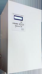 Котел Интойс Оптима 15 кВт15 кВт<br>Интойс Оптима 15 кВт   это автоматический электрический котел с большим функционалом и длительным надежным ресурсом работы. Характерным для устройства является система защиты, безопасность эксплуатации и полезные функции, которые регулируют сохранность и долговечность устройства. Если температура резко снизилась до +5, то отопительный котел начнет работу насоса, если до +3   неизбежен подогрев теплоносителя.<br>Особенности и преимущества электрических котлов Интойс серии Оптима:<br><br>Полный автомат;<br>Погодозависимое управление;<br>Оснащен встроенным программатором, что позволяет выстраивать работу котла в любом удобном режиме для пользователя:<br>Возможность непрерывного поддержания температуры по температуре помещения:<br><br>суточный режим;<br>недельный режим;<br>режим календарный;<br><br><br>Возможность непрерывного поддержания температуры по температуре теплоносителя:<br><br>суточный режим;<br>недельный режим;<br>режим календарный;<br><br><br>Оснащен счетчиком времени работы котла, что позволяет следить за расходом электроэнергии;<br>Оснащен вольтметром и часами реального времени;<br>Режим с автоматическим изменением мощности котла (Экономия энергопотребления до 70%, уменьшенная нагрузка на сеть: потребление электричества при догреве помещения не более 20% от своей мощности);<br>Возможность ручного изменения гистерезиса по температуре помещения (1-3 градуса) и по теплоносителю от 1 до 5 градусов.<br>Возможность ручного изменения времени включения и выключения работы насоса.<br>Возможность подключения котлов в каскад через общую шину;<br>Возможность подключения GSM модуля с изменением температур помещения и теплоносителя, а также выбора режима работы котла (отдельная опция);<br>Оснащен 3 датчиками температуры.<br><br>Защита:<br><br>Оснащен устройством защиты от длительных и импульсных напряжений в сети;<br>Оснащен устройством защиты от коротких замыканий;<br>Оснащен встроенным УЗИПом.<br><br>Российская торговая марка Интойс