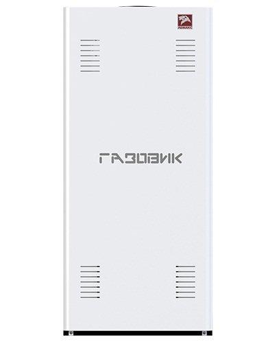 Котел Лемакс Газовик АОГВ-11.610 кВт<br>Отопительный котел модели ЛЕМАКС Газовик АОГВ-11,6 рассчитан на эксплуатацию в составе отопительной системы, обслуживающей помещение, площадь которого может достигать 116 м2.<br>Газовая горелка Polidoro и современная система автоматического управления Sit (производства Италии) изготовлены в соответствии со всеми требованиями стандартов качества установленных в Европе.<br>Стальные стенки толщиной 2 мм обеспечивают оптимальное соотношение прочности и надежности конструкции эффективности теплопередачи.<br>Особенности прибора:<br><br>Материал   высококачественная сталь толщиной 2 мм<br>Топливо   природный или сжиженный газ<br>Высокий уровень КПД<br>Теплообменник цилиндрической формы<br>Увеличенная площадь теплообмена<br>Теплообменник покрыт антикоррозийной эмалью и ингибирующим составом<br>Система защиты от перегревов, образования сажи, прерывания тяги и задувания пламени<br>Наличие датчика перегревов теплообменника<br>Турбулизатор с максимальной задержкой выходящих газов<br>Увеличен первичный и вторичный приток воздуха<br>Фасадная облицовка легко снимается<br>Съемная верхняя панель<br>Манометр на лицевой панели<br>Простота обслуживания<br>Нет необходимости в подключении к электросети<br>Привлекательный и строгий дизайн корпуса<br><br>Серия стальных газовых отопительных котлов Лемакс Газовик   надежное и удобное в управлении и уходе оборудование, которое совмещает простоту конструкции и высокую надежность материалов, комплектующих и сборки каждого из приборов.<br>Надежный газовый клапан производства итальянского концерна SIT и горелка Polidoro (Италия) гарантируют бесперебойную подачу газа, полноценное его сгорание с извлечением максимального количества тепловой энергии и полную безопасность оборудования.<br>Независимость от электросети позволяет функционировать устройству даже в случае отключения электроэнергии, что имеет особенное значение в районах, где электроснабжение нестабильно.<br>КПД котла достигает 87 % - это обусловлено