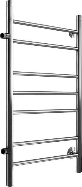 Водяной полотенцесушитель лесенка Маргроид Вид 10 с боковым подключением 80*40Лесенка<br>Обратите внимание! Комплект крепежей и фитингов в комплект не входит и докупается отдельно.Полотенцесушитель водяного типа Маргроид Вид 10 с боковым подключением представляет собой эффективное и долговечное бытовое оборудование, разработанное специально для использования в ванных комнатах с любыми условиями эксплуатации. Такое устройство отличается экономичностью и несравненной надежностью, а также имеет эстетичное внешнее исполнение.<br>Особенности и преимущества полотенцесушителя от компании Маргроид:<br><br>Материал - нержавеющая сталь.<br>Подключается к системе отопления или горячего водоснабжения.<br>Срок службы полотенцесушителя 10 и более лет.<br>Рабочее давление до 8 атм.<br>Максимальное давление - 24,5 атм.<br>Максимальная температура воды - 105 C.<br>Поддерживают тепло и сухость в ванной комнате на протяжении всего отопительного периода.<br>Не потребляют электроэнергию.<br>Не требуют заземления.<br>Подвергаются контролю качества на каждом этапе производства.<br>Изготовлены в строгом соответствии со стандартами.<br>Обладают эстетической привлекательностью.<br>Гармонично сочетаются с любым дизайном ванной комнаты.<br>Произведен в России.<br>Имеют страховку и гарантию.<br>Срок гарантии 3 года.<br><br>Если товара нет в наличии, срок изготовления заказа составляет 5-10 дней.<br>Маргроид Вид 10 с боковым подключением   это серия высокотехнологичных и компактных полотенцесушителей, каждый из которых отличается высоким качеством исполнения и стильным внешним дизайном. Устройства данной линейки идеально подходят для применения в современных ванных комнатах, они экономичны, защищены от возникновения неполадок и устойчивы к высокой влажности.<br><br>Страна: Россия<br>Производитель: Россия<br>Тип: Водяной<br>Форма: Лесенка<br>Цвет: Хром<br>РазмерыВШ, мм: 800x400<br>Межосевое расст., мм: None<br>Подключение: Боковое<br>Min давление: 8<br>Max давление: 24.5<br>Вес, кг: 5<br>Гарантия