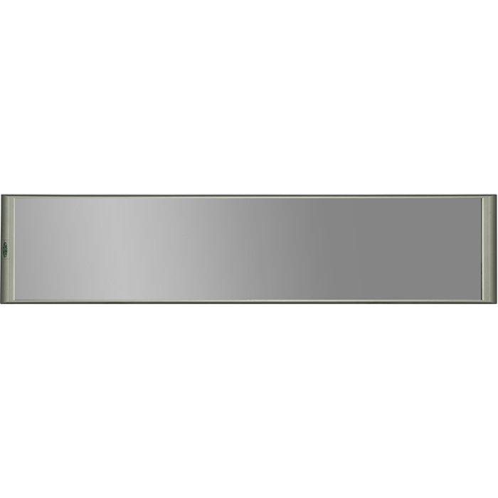 Инфракрасный обогреватель ПИОН Thermo Glass Зеркало&lt; 0.6 кВт<br>Инфракрасный обогреватель ПИОН Thermo Glass Зеркало монтируется без каких-либо сложностей и отличается простым и комфортным управлением и обслуживанием. Агрегат имеет высокую устойчивость к воздействиям внешней среды и защищен от воды и перепадов напряжения. Высокий уровень энергоэффективности позволяет без особых затрат применять данную модель в течение долгого времени.<br>Особенности и преимущества обогревателей ПИОН Thermo Glass:<br><br>Экологичны &amp;ndash; то есть бесшумны, не выделяют посторонних запахов, не вызывают конвекционного переноса пыли.<br>Уникальный запас прочности и высокий класс электробезопасности позволяют использовать стеклянные обогреватели во влажных помещениях (с ними ничего не произойдет, даже если на горячую поверхность случайно попадет холодная вода), а также в отсутствие хозяев.<br>Удобство монтажа.<br>Широкий модельный ряд: потолочное исполнение, настенное и напольное.<br>Удобство использования.<br>Простота монтажа.<br>Элегантный внешний облик.<br>Компактность.<br><br>Инфракрасные обогреватели из серии Thermo Glass &amp;ndash; это современное оборудование для обогрева помещений самого разного назначения, от спален до офисов, от ресторанов до торговых центров. Семейство разработано компанией ПИОН, которая тщательно следит за качеством своей продукции. Модельный ряд представлен потолочными обогревателя, а также устройствами для крепления на стене или расположения на горизонтальных поверхностях. Посетители нашего интернет-магазина найдут и модели, предназначенные для встраивания в подвесные потолки &amp;laquo;Армстронг&amp;raquo;.&amp;nbsp;<br><br>Страна: Россия<br>Мощность, кВт: 0,6<br>Площадь, м?: 6<br>Регулировка мощности: Нет<br>Тип установки: Настенная<br>Отключение при перегреве: Нет<br>Пульт: Нет<br>Габариты ШВГ, см: 155x34,8x2,3<br>Вес, кг: 11<br>Гарантия: 3 года<br>Ширина мм: 1550<br>Высота мм: 348<br>Глубина мм: 23