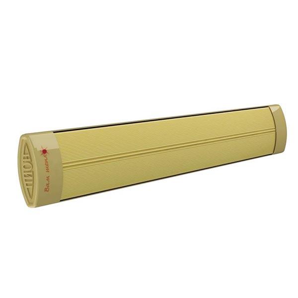 Инфракрасный обогреватель ПИОН Люкс 06&lt; 0.6 кВт<br>ПИОН Люкс 06   это модель современного инфракрасного обогревателя, предназначенного ля установки в помещениях площадью не более 6м2. Прочный корпус модели изготовлен из алюминиевого сплава, устойчивого к влиянию окружающей среды. Для защиты от коррозии конструкция покрыта специальной порошковой краской. Терморегулятор приобретается отдельно. <br>Особенности и преимущества:<br><br>Отличное решение для отопления небольших помещений, либо для обогрева больших площадей с помощью нескольких обогревателей. <br>Безопасный эффективный обогрев.<br>Простота монтажа и эксплуатации.<br>Компактные размеры.<br>Возможно подключение терморегулятора (опция, заказывается отдельно).<br><br>ПИОН   это российский бренд, специализирующийся на обогревательных приборах. Компания разработала широкий модельный ряд инфракрасных обогревателей   экономичных, современных, эффективных и безопасных. С такими устройствами вы сможете не переплачивать за расход лишней электрической энергии, ведь световой обогреватель воздействует только на поверхности предметов, а не на воздух. Никаких теплопотерь! Только эффективный обогрев. <br><br>Страна: Россия<br>Производитель: Россия<br>Мощность, кВт: 0,6<br>Площадь, м?: 612<br>Регулировка мощности: Нет<br>Встроенный термостат: Нет<br>Тип установки: Стена/Потолок<br>Отключение при перегреве: Есть<br>Пульт: Нет<br>Габариты ШВГ, см: 103,5x12,5x5,5<br>Вес, кг: 4<br>Гарантия: 3 года<br>Ширина мм: 1035<br>Высота мм: 125<br>Глубина мм: 55