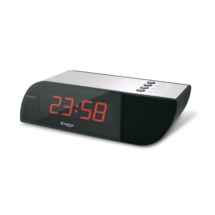 Часы без проекции Спектр СК 0718 Ч(Х)-КЧасы без проекции<br>Сетевые настольные часы Спектр СК 0718 Ч(Х)-К очень удобны при использовании в бытовых условиях, отображают время в цифровом формате, цвет индикации   красный, что позволяет более комфортно пользоваться ими в ночное время суток. Модель имеет компактные размерные характеристики и очень приятное дизайнерское решение всей конструкции. Предусмотрен будильник и возможность регулировать громкость сигнала.<br>Основные достоинства рассматриваемой модели настольных часов от компании Спектр:<br><br>Кварцевый механизм высокой точности.<br>Будильник.<br>Автоматическое повторение сигнала будильника (snooze). Если включена функция повтора сигнала будильника, то будильник снова сработает примерно через 8 - 9 минут после отключения. Можно отключить эту функцию.<br>Регулировка яркости индикации. С помощью переключателя можно отрегулировать яркость отображения времени. Положение + - более яркое, положение - - стандартная яркость свечения.<br>Формат времени 24 ч.<br>Питание от сети.<br>Цвет корпуса под дерево с серебристыми вставками.<br>Цвет индикации - зеленый.<br><br>Настольные часы от торговой марки Спектр   это огромная линейка всевозможных современных моделей с различным дизайнерским решением и функционалом, которые могут заинтересовать самую разную аудиторию. Модели от данного производителя отличаются высоким качеством сборки, компактными размерными характеристиками, простой и современностью.<br><br>Страна: Россия<br>Питание, В: Сеть/Бат.<br>Тип батарейки: КРОНА<br>Колво батареек: 1<br>Адаптер к 220В: Есть<br>С будильником: Да<br>Радиодатчик: Нет<br>С метеостанцией: Нет<br>В помещении t, С: Нет<br>За окном t, С: Нет<br>Влажность в помещении: Нет<br>Влажность за окном: Нет<br>Давление: Нет<br>Прогноз погоды: Нет<br>Габариты, мм: 155х50х45<br>Вес, кг: 1<br>Гарантия: 1 год<br>Ширина мм: 50<br>Высота мм: 155<br>Глубина мм: 45