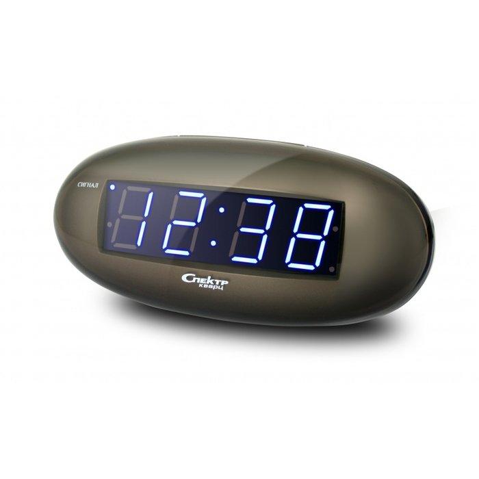 Часы без проекции Спектр СК 0932-С-БЧасы без проекции<br>Оригинальные настольные сетевые часы Спектр СК 0932-С-Б   это лаконичное решение для бытового использования. Данное изделие имеет современное и очень необычное дизайнерское решение, что делает представленные часы полноценным аксессуаром для пространственного оформления интерьера. Модель будет лаконично смотреться на столике и в любо момент поможет вам проснуться, так как оснащена будильником.<br>Основные достоинства рассматриваемой модели настольных часов от компании Спектр:<br><br>Кварцевый механизм высокой точности.<br>Будильник.<br>Автоматическое повторение сигнала будильника (snooze). Если включена функция повтора сигнала будильника, то будильник снова сработает примерно через 8 - 9 минут после отключения. Можно отключить эту функцию.<br>Функция ночного светильника.<br>Формат времени 24 ч.<br>Питание от сети.<br><br>Настольные часы от торговой марки Спектр   это огромная линейка всевозможных современных моделей с различным дизайнерским решением и функционалом, которые могут заинтересовать самую разную аудиторию. Модели от данного производителя отличаются высоким качеством сборки, компактными размерными характеристиками, простой и современностью. <br><br>Страна: Россия<br>Питание, В: Сеть/Бат.<br>Тип батарейки: КРОНА<br>Колво батареек: 1<br>Адаптер к 220В: Есть<br>С будильником: Да<br>Радиодатчик: Нет<br>С метеостанцией: Нет<br>В помещении t, С: Нет<br>За окном t, С: Нет<br>Влажность в помещении: Нет<br>Влажность за окном: Нет<br>Давление: Нет<br>Прогноз погоды: Нет<br>Габариты, мм: 150x50x70<br>Вес, кг: 1<br>Гарантия: 1 год<br>Ширина мм: 50<br>Высота мм: 150<br>Глубина мм: 70