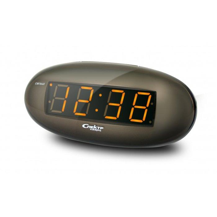 Часы без проекции Спектр СК 0932-С-ОЧасы без проекции<br>Настольные сетевые часы в лаконичном пластиковом корпусе Спектр СК 0932-С-О   это наиболее удачная и привлекательная по своим эстетическим и пользовательским функциям модель для домашнего использования. Изделие оснащено функцией будильника с повторением сигнала в случае, если вы не смогли проснуться вовремя в назначенный час. Отображает время в 24-х часовом формате.<br>Основные достоинства рассматриваемой модели настольных часов от компании Спектр:<br><br>Кварцевый механизм высокой точности.<br>Будильник.<br>Автоматическое повторение сигнала будильника (snooze). Если включена функция повтора сигнала будильника, то будильник снова сработает примерно через 8 - 9 минут после отключения. Можно отключить эту функцию.<br>Функция ночного светильника.<br>Формат времени 24 ч.<br>Питание от сети.<br><br>Настольные часы от торговой марки Спектр   это огромная линейка всевозможных современных моделей с различным дизайнерским решением и функционалом, которые могут заинтересовать самую разную аудиторию. Модели от данного производителя отличаются высоким качеством сборки, компактными размерными характеристиками, простой и современностью.<br><br>Страна: Россия<br>Питание, В: Сеть/Бат.<br>Тип батарейки: КРОНА<br>Колво батареек: 1<br>Адаптер к 220В: Есть<br>С будильником: Да<br>Радиодатчик: Нет<br>С метеостанцией: Нет<br>В помещении t, С: Нет<br>За окном t, С: Нет<br>Влажность в помещении: Нет<br>Влажность за окном: Нет<br>Давление: Нет<br>Прогноз погоды: Нет<br>Габариты, мм: 150x50x70<br>Вес, кг: 1<br>Гарантия: 1 год<br>Ширина мм: 50<br>Высота мм: 150<br>Глубина мм: 70