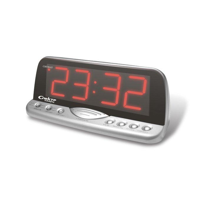 Часы без проекции Спектр СК 1220-С-КЧасы без проекции<br>Спектр СК 1220-С-К   модель домашних настольных часов, которые работают от сети электропитания и будут лаконично смотреться на любом прикроватном столике или тумбочке. Изделие представляет собой надежное устройство, которое может помочь вам организовать свою жизнь и всегда быть в курсе актуальной информации о текущем времени. Предусмотрен будильник с повтором сигнала.<br>Основные достоинства рассматриваемой модели настольных часов от компании Спектр:<br><br>Кварцевый механизм высокой точности.<br>Будильник.<br>Автоматическое повторение сигнала будильника (snooze). Если включена функция повтора сигнала будильника, то будильник снова сработает примерно через 8 - 9 минут после отключения. Можно отключить эту функцию.<br>Возможность регулировки яркости дисплея<br>Возможность регулировки громкости сигнала.<br>Формат времени 24 ч.<br>Питание от сети.<br><br>Настольные часы от торговой марки Спектр   это огромная линейка всевозможных современных моделей с различным дизайнерским решением и функционалом, которые могут заинтересовать самую разную аудиторию. Модели от данного производителя отличаются высоким качеством сборки, компактными размерными характеристиками, простой и современностью. <br><br>Страна: Россия<br>Питание, В: Сеть/Бат.<br>Тип батарейки: КРОНА<br>Колво батареек: 1<br>Адаптер к 220В: Есть<br>С будильником: Да<br>Радиодатчик: Нет<br>С метеостанцией: Нет<br>В помещении t, С: Нет<br>За окном t, С: Нет<br>Влажность в помещении: Нет<br>Влажность за окном: Нет<br>Давление: Нет<br>Прогноз погоды: Нет<br>Габариты, мм: 220x90x90<br>Вес, кг: 1<br>Гарантия: 1 год<br>Ширина мм: 90<br>Высота мм: 220<br>Глубина мм: 90