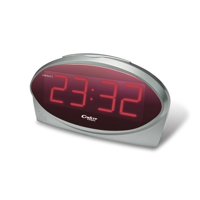 Часы без проекции Спектр СК 1232 Ш-КЧасы без проекции<br>Модель настольных часов с цифровой индикацией времени от надежного производителя Спектр СК 1232 Ш-К   это идеальное решение для использования в любое время суток. Данная модель будет особенно комфорта в использовании ночью, так как имеет красную индикацию, наиболее комфортную для глаз в ночное время суток. Для удобного использования предусмотрена регулировка громкости сигнала будильника.<br>Основные достоинства рассматриваемой модели настольных часов от компании Спектр:<br><br>Кварцевый механизм высокой точности.<br>Будильник.<br>Автоматическое повторение сигнала будильника (snooze). Если включена функция повтора сигнала будильника, то будильник снова сработает примерно через 8 - 9 минут после отключения. Можно отключить эту функцию.<br>Возможность регулировки яркости дисплея<br>Возможность регулировки громкости сигнала.<br>Формат времени 24 ч.<br>Питание от сети.<br><br>Настольные часы от торговой марки Спектр   это огромная линейка всевозможных современных моделей с различным дизайнерским решением и функционалом, которые могут заинтересовать самую разную аудиторию. Модели от данного производителя отличаются высоким качеством сборки, компактными размерными характеристиками, простой и современностью. <br><br>Страна: Россия<br>Питание, В: Сеть/Бат.<br>Тип батарейки: КРОНА<br>Колво батареек: 1<br>Адаптер к 220В: Есть<br>С будильником: Да<br>Радиодатчик: Нет<br>С метеостанцией: Нет<br>В помещении t, С: Нет<br>За окном t, С: Нет<br>Влажность в помещении: Нет<br>Влажность за окном: Нет<br>Давление: Нет<br>Прогноз погоды: Нет<br>Габариты, мм: 210х70х105<br>Вес, кг: 1<br>Гарантия: 1 год<br>Ширина мм: 70<br>Высота мм: 210<br>Глубина мм: 105