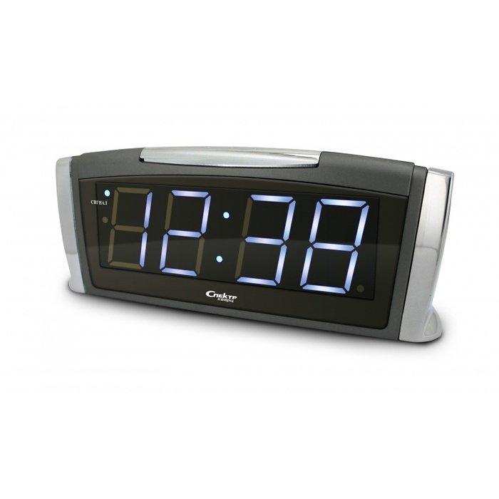 Часы без проекции Спектр СК 1811 Т(Х)-БЧасы без проекции<br>Настольные часы с современным дизайнерским решением всей конструкции Спектр СК 1811 Т(Х)-Б   это идеальный способ всегда быть в курсе текущего времени, если вы находитесь дома, и отличная возможность организовать свою жизнь, так как производитель предусмотрел наличие будильника с автоматически повторяющимся сигналом. Модель имеет яркую индикацию, которую можно регулировать.<br>Основные достоинства рассматриваемой модели настольных часов от компании Спектр:<br><br>Кварцевый механизм высокой точности.<br>Будильник.<br>Автоматическое повторение сигнала будильника (snooze). Если включена функция повтора сигнала будильника, то будильник снова сработает примерно через 8 - 9 минут после отключения. Можно отключить эту функцию.<br>Возможность регулировки яркости дисплея.<br>Формат времени 24 ч.<br>Питание от сети.<br><br>Настольные часы от торговой марки Спектр   это огромная линейка всевозможных современных моделей с различным дизайнерским решением и функционалом, которые могут заинтересовать самую разную аудиторию. Модели от данного производителя отличаются высоким качеством сборки, компактными размерными характеристиками, простой и современностью. <br><br>Страна: Россия<br>Питание, В: Сеть/Бат.<br>Тип батарейки: КРОНА<br>Колво батареек: 1<br>Адаптер к 220В: Есть<br>С будильником: Да<br>Радиодатчик: Нет<br>С метеостанцией: Нет<br>В помещении t, С: Нет<br>За окном t, С: Нет<br>Влажность в помещении: Нет<br>Влажность за окном: Нет<br>Давление: Нет<br>Прогноз погоды: Нет<br>Габариты, мм: 225x65x95<br>Вес, кг: 1<br>Гарантия: 1 год<br>Ширина мм: 65<br>Высота мм: 225<br>Глубина мм: 95