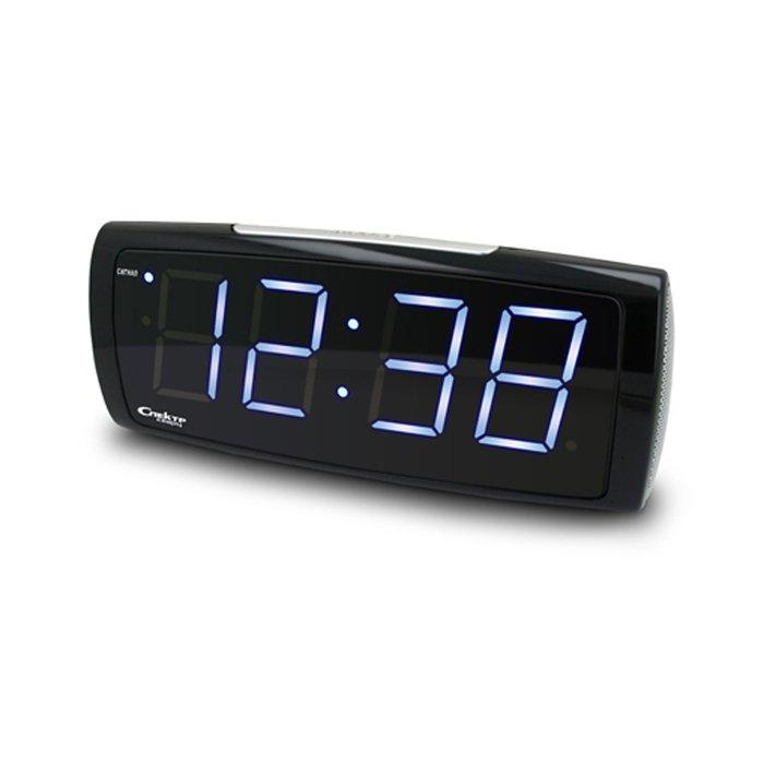 Часы без проекции Спектр СК 1819 Ч-БЧасы без проекции<br>Цифровые часы-будильник с электронным механизмом Спектр СК 1819 Ч-Б имеют конструкцию плавной формы, которая придает часам определенное очарование   они будут лаконично смотреться на прикроватной тумбочке или столике в спальной комнате. Модель отображает время в цифровом виде с помощью синей индикации   это наиболее удобный способ донести до пользователя информацию о текущем времени.<br>Основные достоинства рассматриваемой модели настольных часов от компании Спектр:<br><br>Кварцевый механизм высокой точности.<br>Будильник.<br>Автоматическое повторение сигнала будильника (snooze). Если включена функция повтора сигнала будильника, то будильник снова сработает примерно через 8 - 9 минут после отключения. Можно отключить эту функцию.<br>Возможность регулировки яркости дисплея<br>Возможность регулировки громкости сигнала.<br>Формат времени 24 ч.<br>Питание от сети.<br><br>Настольные часы от торговой марки Спектр   это огромная линейка всевозможных современных моделей с различным дизайнерским решением и функционалом, которые могут заинтересовать самую разную аудиторию. Модели от данного производителя отличаются высоким качеством сборки, компактными размерными характеристиками, простой и современностью. <br><br>Страна: Россия<br>Питание, В: Сеть/Бат.<br>Тип батарейки: КРОНА<br>Колво батареек: 1<br>Адаптер к 220В: Есть<br>С будильником: Да<br>Радиодатчик: Нет<br>С метеостанцией: Нет<br>В помещении t, С: Нет<br>За окном t, С: Нет<br>Влажность в помещении: Нет<br>Влажность за окном: Нет<br>Давление: Нет<br>Прогноз погоды: Нет<br>Габариты, мм: 200x65x85<br>Вес, кг: 1<br>Гарантия: 1 год<br>Ширина мм: 65<br>Высота мм: 200<br>Глубина мм: 85