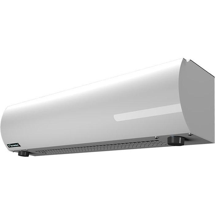Электрическая тепловая завеса Тепломаш КЭВ-10П1062Е9 кВт<br>Тепломаш КЭВ-10П1062Е   это легкая воздушная завеса из современной серии теплового оборудования, разработанная специально для долгой и комфортной эксплуатации. Такое устройство не отличается большой рабочей мощностью, а является идеальным решением для коммерческих или административных помещений, где необходимо предотвратить попадание уличных воздушных масс.<br>Основные преимущества рассматриваемой модели электрической воздушной завесы от торговой марки Тепломаш:<br><br>Эксклюзивный стильный внешний облик с зеркальным покрытием.<br>Работа в режимах воздушного барьера, обогрева и вентиляции помещения.<br>Нагревательные керамические РТС элементы.<br>Корпус прибора изготовлен из листовой стали высокого качества.<br>Встроенные центробежные вентиляторы формируют равномерный мощный воздушный поток.<br>Завеса оборудована качественным высокоточным термостатом.<br>Удобство монтажа.<br>Высокая степень защиты по электрической части.<br>Благодаря специальной конструкции вентиляционных узлов и двойным стенкам корпуса максимально снижен уровень шума.<br>Класс защиты IP 21.<br>Установка осуществляется в дверные или оконные проемы.<br><br>Российская торговая марка Тепломаш выпустила на рынок климатической техники серию тепловых воздушных завес  Оптима , которая предназначена для защиты оконных и дверных проемов, высотой не более двух метров. Большой популярностью завесы данной линейки пользуются для установки в тамбурах и небольших фойе. Все приборы оборудованы встроенными нагревательными РТС элементами, которые самостоятельно регулируют потребление энергии, что обеспечивает максимальную экономичность. Помимо функции воздушного барьера, такие устройства могут работать и в режиме обогревателя, где температуру воздуха можно самостоятельно отрегулировать от 0 до 40 градусов.<br><br>Страна: Россия<br>Тип: Электрическая<br>Расход воздуха, мsup3;/ч: 1000<br>Max высота, м: 2,0<br>Мощность, кВт: 10,0<br>Установка завесы: Горизонтал