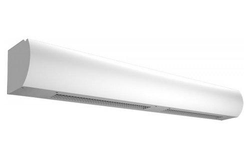 Электрическая тепловая завеса Тепломаш КЭВ-18П3042Е18 кВт<br>Эффективная длина воздушного потока тепловой завесы Тепломаш КЭВ-18П3042Е равна значению в три с половиной метра. Данное климатическое оборудование устанавливается в дверных проемах или воротах, где служит барьером для воздуха холодных температур, который может попасть в помещение и нарушить микроклимат пространства, где уже работает другая техника (кондиционеры или обогреватели). <br>Особенности и преимущества воздушных завес Тепломаш серии Оптима:<br><br>Современный и эргономичный дизайн впишется практически в любой интерьер;<br>Корпус завесы изготовлен из оцинкованной стали высокого качества с полимерным напылением с антикоррозийными свойствами;<br>Встроенный нагревательный элемент позволяет использовать завесу в качестве дополнительного обогрева и повышения комфорта в зоне входной двери;<br>Мощная защита от перегрева делает прибор безопасным и надежным;<br>Возможен как горизонтальный монтаж завесы сверху проема, так и вертикальный сбоку от него;<br>Низкий уровень шума прибора;<br>Наличие сертификатов соответствия Ростехнадзора на всю выпускаемую продукцию;<br>Благодаря верхнему всасыванию воздуха, передняя панель завес  Оптима  остается всегда чистой;<br>Три режима нагрева: без нагрева (режим вентилятора), 50%, 100%;<br>Термостат;<br>Три режима расхода воздуха (3 частоты вращения электродвигателя).<br><br>Оптима   это линейка воздушных производительных завес от компании Телпомаш. Серия представлена моделями с различной эффективной длиной струи: от 2,2 метров до 4,5 метров. Отличительная черта этих завес   верхнее всасывания воздуха для подогрева, что обеспечивает чистоту передней панели. Монтаж завес может осуществляться в любом положении: как в горизонтальной, так и в вертикальной плоскости. Для управления завесами предусмотрен удобный пульт. Завесы Тепломаш в интернет-магазине mircli.ru имеют официальную гарантию и необходимые сертификаты соответствия. Ассортимент семейства представлен завесами с эле