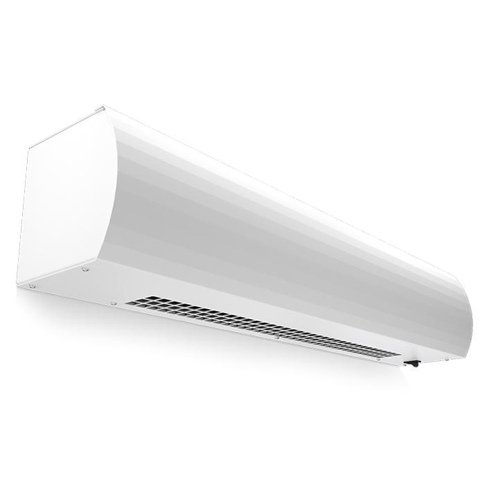 Электрическая тепловая завеса Тепломаш КЭВ-2П1122Е3 кВт<br>Тепломаш КЭВ-2П1122Е представляет собой модель качественной и современной воздушной завесы, которая используется для защиты дверных и оконных проемов от проникновения холодного воздуха. Агрегат предназначен для установки в горизонтальном положении. Управление оборудованием осуществляется при помощи пульта управления.<br>Основные преимущества рассматриваемой модели электрической воздушной завесы от торговой марки Тепломаш:<br><br>Эксклюзивный стильный внешний облик с зеркальным покрытием.<br>Работа в режимах воздушного барьера, обогрева и вентиляции помещения.<br>Нагревательные керамические РТС элементы.<br>Корпус прибора изготовлен из листовой стали высокого качества.<br>Встроенные центробежные вентиляторы формируют равномерный мощный воздушный поток.<br>Завеса оборудована качественным высокоточным термостатом.<br>Удобство монтажа.<br>Высокая степень защиты по электрической части.<br>Благодаря специальной конструкции вентиляционных узлов и двойным стенкам корпуса максимально снижен уровень шума.<br>Класс защиты IP 21.<br>Установка осуществляется в дверные или оконные проемы.<br><br>Российская торговая марка Тепломаш выпустила на рынок климатической техники серию тепловых воздушных завес  Оптима , которая предназначена для защиты оконных и дверных проемов, высотой не более двух метров. Большой популярностью завесы данной линейки пользуются для установки в тамбурах и небольших фойе. Все приборы оборудованы встроенными нагревательными РТС элементами, которые самостоятельно регулируют потребление энергии, что обеспечивает максимальную экономичность. Помимо функции воздушного барьера, такие устройства могут работать и в режиме обогревателя, где температуру воздуха можно самостоятельно отрегулировать от 0 до 40 градусов.<br><br>Страна: Россия<br>Тип: Электрическая<br>Расход воздуха, мsup3;/ч: 300<br>Max высота, м: 1,5<br>Мощность, кВт: 2,0<br>Установка завесы: Горизонтальная<br>Регулировка температуры: Есть<br>Вен