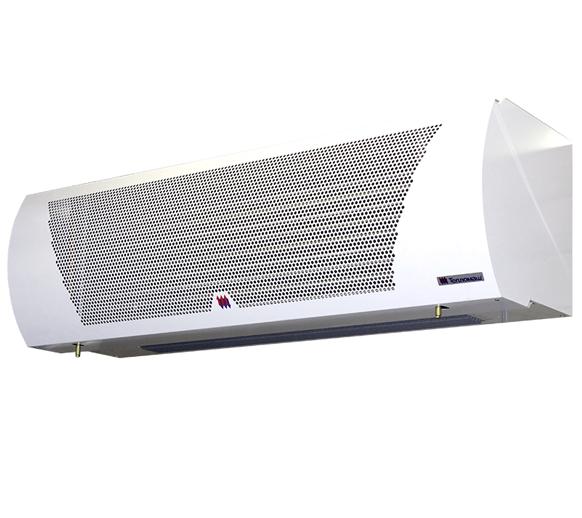 Электрическая тепловая завеса Тепломаш КЭВ-44П4131WВодяные<br> <br>Тепловые завесы для проемов различного назначения (окон, ворот, дверей) незаменимы в вопросах энергосбережения: они помогают существенно экономить энергию, затрачиваемую на функционирование систем вентиляции и отопления. Они создают мощный скоростной воздушный поток, который разделяет внутреннее пространство помещения и окружающую среду на две температурные зоны, с помощью чего достигается и поддерживается желаемый температурный режим. Тем не менее, эти приборы не предназначены для использования в качестве обогревателей помещений. Они лишь обеспечивают энергосбережение, удерживая тепло, даваемое другими обогревательными приборами.<br>Мощный воздушный барьер, создаваемый завесами, поддерживает в помещении заданную температуру и чистоту воздуха. В результате вы оказываетесь надежно защищены от насекомых, пыли и неприятных внешних запахов.<br>Завесы Тепломаш КЭВ-44П4131W обычно устанавливаются над дверным или оконным проемом, но если такой монтаж не представляется возможным, то предусмотрен боковой вариант установки. Управление завесой осуществляется с помощью дистанционного пульта. Один пульт подходит для управления 1 6 завесами одновременно. Двигатели, применяемые в данной модели, электрические однофазные, с регулируемой частотой вращения.<br>Источником тепла в водяных тепловых завесах служит горячая вода, которая подается из систем центрального отопления. Повышенная сложность монтажа является главным минусом данной модели. Но ее высокая мощность и существенное снижение расходов полностью компенсируют это разовое неудобство.<br><br>Страна: Россия<br>Тип: Водяная<br>Расход воздуха, мsup3;/ч: 2500<br>Max высота, м: 4,5<br>Мощность, кВт: 17,7<br>Установка завесы: Горизонтальная<br>Регулировка температуры: Есть<br>Вентиляция без нагрева: Есть<br>Ширина завесы, м: 1<br>Пульт: Есть<br>Напряжение, В: 220 В<br>Вилка: None<br>Габариты ВхШхГ, см: 34x111x35<br>Вес, кг: 25<br>Гарантия: 2 года<br>Ширина мм: 1110<b