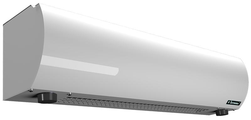Электрическая тепловая завеса Тепломаш КЭВ-5П1152Е5 кВт<br> Завесы устанавливаются как горизонтально (над проемом), так и вертикально (сбоку от проема), при необходимости   с обеих сторон.<br>Для производства завес использованы комплектующие ведущих мировых производителей.<br>Все приборы имеют защиту от перегрева и задержку отключения вентилятора (для снятия остаточного тепла с ТЭНов после отключения прибора).<br>Управление завесами осуществляется с выносного пульта, входящего в комплект поставки. Предусмотрено раздельное включение вентилятора и воздухонагревателя, что позволяет использовать оборудование в летнее время для защиты от жары, пыли, насекомых, дыма, запахов и пр. Пульт управления позволяет поддерживать заданную температуру воздуха вблизи проема путем изменения производительности и тепловой мощности. С одного пульта без специальных изменений можно управлять шестью одинаковыми завесами.<br><br>Страна: Россия<br>Производитель: Россия<br>Тип: Электрическая<br>Термостат в комплекте: Да<br>Расход воздуха, мsup3;/ч: 450<br>Max высота, м: 2,0<br>Мощность, кВт: 5,0<br>Установка завесы: Горизонтальная<br>Регулировка температуры: Есть<br>Вентиляция без нагрева: Есть<br>Ширина завесы, м: 0,8<br>Пульт: Нет<br>Напряжение, В: 220 В<br>Вилка: None<br>Габариты ВхШхГ, см: 19.5x80x20.5<br>Вес, кг: 9<br>Гарантия: 2 года<br>Ширина мм: 800<br>Высота мм: 195<br>Глубина мм: 205