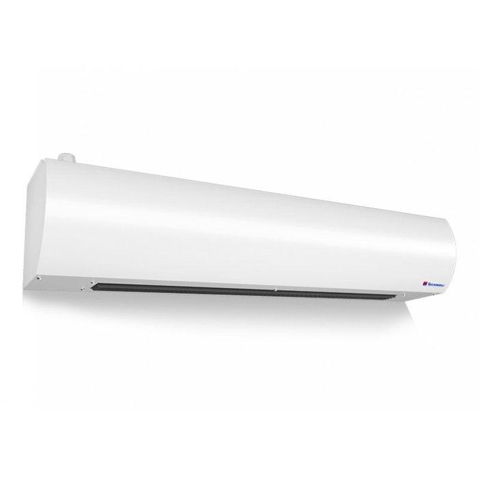Электрическая тепловая завеса Тепломаш КЭВ-6П2012Е6 кВт<br>Благодаря современной технологичной комплектации электрическая воздушная завеса Тепломаш КЭВ-6П2012Е применяется с высоким уровнем комфорта, помогает эффективно обогревать помещения в холодное время и совершенно не требует сложного технического обслуживания. Компактный корпус, изолированный от воздействий агрессивной среды, имеет ультрасовременный дизайн.<br>Основные преимущества рассматриваемой модели электрической воздушной завесы от торговой марки Тепломаш:<br><br>Эксклюзивный стильный внешний облик с зеркальным покрытием.<br>Работа в режимах воздушного барьера, обогрева и вентиляции помещения.<br>Нагревательные керамические РТС элементы.<br>Корпус прибора изготовлен из листовой стали высокого качества.<br>Встроенные центробежные вентиляторы формируют равномерный мощный воздушный поток.<br>Завеса оборудована качественным высокоточным термостатом.<br>Удобство монтажа.<br>Высокая степень защиты по электрической части.<br>Благодаря специальной конструкции вентиляционных узлов и двойным стенкам корпуса максимально снижен уровень шума.<br>Класс защиты IP 21.<br>Установка осуществляется в дверные или оконные проемы.<br><br>Российская торговая марка Тепломаш выпустила на рынок климатической техники серию тепловых воздушных завес  Оптима , которая предназначена для защиты оконных и дверных проемов, высотой не более двух метров. Большой популярностью завесы данной линейки пользуются для установки в тамбурах и небольших фойе. Все приборы оборудованы встроенными нагревательными РТС элементами, которые самостоятельно регулируют потребление энергии, что обеспечивает максимальную экономичность. Помимо функции воздушного барьера, такие устройства могут работать и в режиме обогревателя, где температуру воздуха можно самостоятельно отрегулировать от 0 до 40 градусов.<br> <br> <br> <br> <br><br>Страна: Россия<br>Производитель: Россия<br>Тип: Электрическая<br>Термостат в комплекте: Да<br>Расход воздуха, мsup3;/ч: 1100<br>Ma