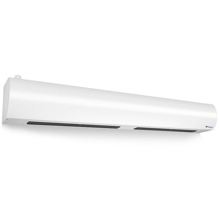 Электрическая тепловая завеса Тепломаш КЭВ-6П2222Е6 кВт<br>Воздушная завеса модели Тепломаш КЭВ-6П2222Е   эффективное оборудование для разнообразных коммерческих предприятий и помещений офисного типа. Установка рассматриваемой модели происходит непосредственно над проемом, откуда в обычное время просачивается уличный воздух некомфортной температуры, несущий вместе с собой вирусы, посторонние запахи и частицы пыли.<br>Основные преимущества рассматриваемой модели электрической воздушной завесы от торговой марки Тепломаш:<br><br>Эксклюзивный стильный внешний облик с зеркальным покрытием.<br>Работа в режимах воздушного барьера, обогрева и вентиляции помещения.<br>Нагревательные керамические РТС элементы.<br>Корпус прибора изготовлен из листовой стали высокого качества.<br>Встроенные центробежные вентиляторы формируют равномерный мощный воздушный поток.<br>Завеса оборудована качественным высокоточным термостатом.<br>Удобство монтажа.<br>Высокая степень защиты по электрической части.<br>Благодаря специальной конструкции вентиляционных узлов и двойным стенкам корпуса максимально снижен уровень шума.<br>Класс защиты IP 21.<br>Установка осуществляется в дверные или оконные проемы.<br><br>Российская торговая марка Тепломаш выпустила на рынок климатической техники серию тепловых воздушных завес  Оптима , которая предназначена для защиты оконных и дверных проемов, высотой не более двух метров. Большой популярностью завесы данной линейки пользуются для установки в тамбурах и небольших фойе. Все приборы оборудованы встроенными нагревательными РТС элементами, которые самостоятельно регулируют потребление энергии, что обеспечивает максимальную экономичность. Помимо функции воздушного барьера, такие устройства могут работать и в режиме обогревателя, где температуру воздуха можно самостоятельно отрегулировать от 0 до 40 градусов.<br> <br> <br> <br> <br> <br> <br><br>Страна: Россия<br>Тип: Электрическая<br>Расход воздуха, мsup3;/ч: 1600<br>Max высота, м: 2,5<br>Мощность, кВт: 6,0<br>У