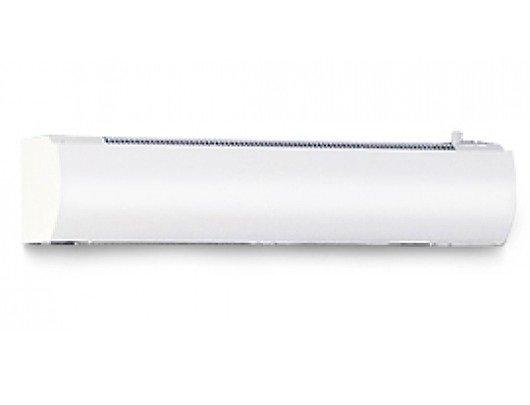 Электрическая тепловая завеса Тепломаш КЭВ-9П3012Е9 кВт<br>В зданиях и помещениях различного назначения в любых открытых проемах необходимо устанавливать специальную климатическую технику, которая не позволит пройти холодному воздуху в помещение или выйти уже нагретому, например   тепловую завесу Тепломаш КЭВ-9П3012Е. Данное оборудование   это отличная возможность сэкономить на электроэнергии и снизить нагрузку на другую технику.<br>Особенности и преимущества воздушных завес Тепломаш серии Оптима:<br><br>Современный и эргономичный дизайн впишется практически в любой интерьер;<br>Корпус завесы изготовлен из оцинкованной стали высокого качества с полимерным напылением с антикоррозийными свойствами;<br>Встроенный нагревательный элемент позволяет использовать завесу в качестве дополнительного обогрева и повышения комфорта в зоне входной двери;<br>Мощная защита от перегрева делает прибор безопасным и надежным;<br>Возможен как горизонтальный монтаж завесы сверху проема, так и вертикальный сбоку от него;<br>Низкий уровень шума прибора;<br>Наличие сертификатов соответствия Ростехнадзора на всю выпускаемую продукцию;<br>Благодаря верхнему всасыванию воздуха, передняя панель завес  Оптима  остается всегда чистой;<br>Три режима нагрева: без нагрева (режим вентилятора), 50%, 100%;<br>Термостат;<br>Три режима расхода воздуха (3 частоты вращения электродвигателя).<br><br>Оптима   это линейка воздушных производительных завес от компании Телпомаш. Серия представлена моделями с различной эффективной длиной струи: от 2,2 метров до 4,5 метров. Отличительная черта этих завес   верхнее всасывания воздуха для подогрева, что обеспечивает чистоту передней панели. Монтаж завес может осуществляться в любом положении: как в горизонтальной, так и в вертикальной плоскости. Для управления завесами предусмотрен удобный пульт. Завесы Тепломаш в интернет-магазине mircli.ru имеют официальную гарантию и необходимые сертификаты соответствия. Ассортимент семейства представлен завесами с электрическим и