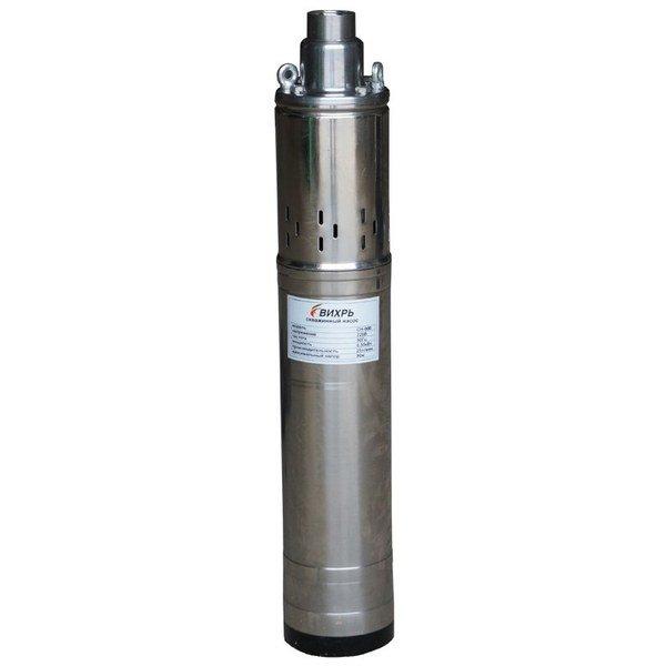 Погружной насос Вихрь СН-90BСкважинные насосы<br>Надежный эффективный и доступный скважинный насос Вихрь СН-90B представляет собой отличное современное бытовое оборудование, подходящее для использования на дачных участках или в загородных домах, где требуется наладить подачу воды, осушить резервуар и т.п. Рассматриваемая модель выполнена из очень качественных и передовых материалов, устойчивых к внешним воздействиям.<br>Особенности и преимущества насосов Вихрь представленной серии:<br><br>Отверстия в крышке насоса - для крепления троса;<br>Подъем воды на высоту до 135 метров;<br>Материал насосной части - пластик;<br>Предназначен для длительной работы.<br><br>Скважинные вертикальные насосы Вихрь предназначенные для погружения в воду с целью перекачивания ее для систем водоснабжения бытового или промышленного назначения. Представленные в серии модели отличаются долговечностью и надежностью конструкции, компактным исполнением и полной бесшумностью в работе. Оборудование выполнено из качественных материалов.<br><br>Страна: Россия<br>Производитель: Китай<br>Производительность, л/мин: 25<br>Max глубина погружения, м: 35<br>Мощность, Вт: 550<br>Напряжение сети, В: 220 В<br>Длина кабеля, м: 17<br>Max напор, м: 90<br>Защита от сухого хода: Нет<br>Материал корпуса: Нержавеющая сталь<br>диаметр подсоединения, дюйм: 1<br>Max темп. жидкости, С: 35<br>Класс защиты: IPX8<br>Качество воды: Чистая<br>Габариты ВхШхГ, см: 57x9.8x9.8<br>Вес, кг: 10<br>Гарантия: 1 год<br>Ширина мм: 98<br>Высота мм: 570<br>Глубина мм: 98