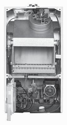 Схема газового котла Бакси.
