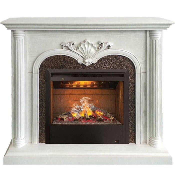 Купить Real-Flame April HL WT с очагом 3D Helios уцененный в интернет магазине. Цены, фото, описания, характеристики, отзывы, обзоры