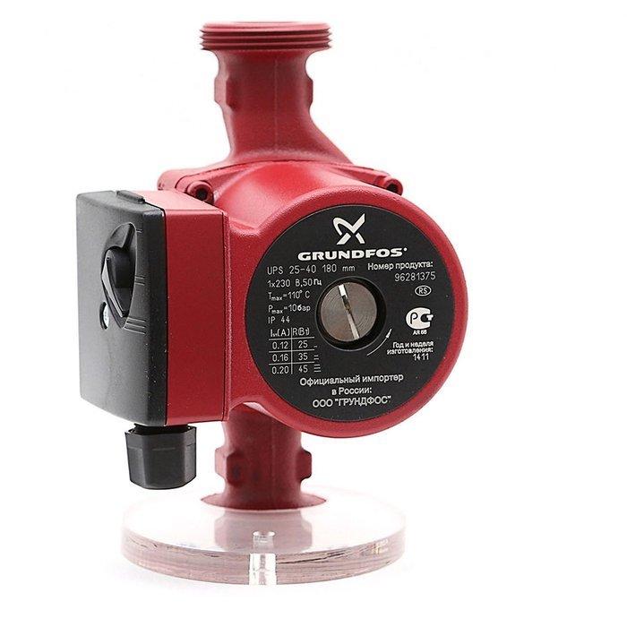 Купить Grundfos UPS25-40 180 1x230V 50Hz 9H уцененный в интернет магазине. Цены, фото, описания, характеристики, отзывы, обзоры