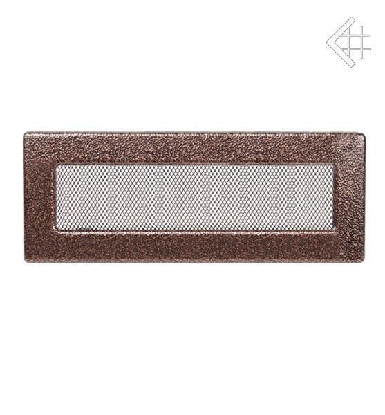 Вентиляционная решетка для камина Kratki Kratki 11х32 черная/медь пористая 32M