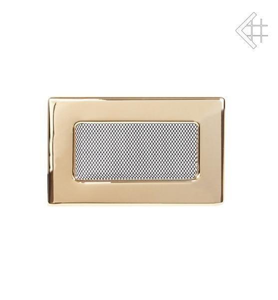 Вентиляционная решетка для камина Kratki Kratki 11х17 полированная латунь 117Z