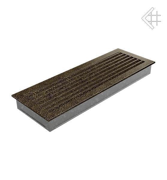 Вентиляционная решетка для камина Kratki Kratki 17х70 FRESH черная латунь пористая 70CZ/FRESH