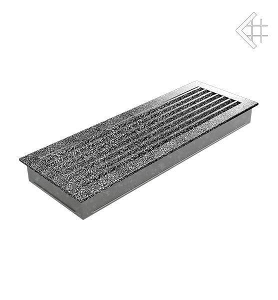 Вентиляционная решетка для камина Kratki Kratki 17х70 FRESH черная хром пористая 70CS/FRESH