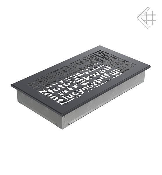 Купить Kratki 17x30 ABC графитовая 30ABC/G в интернет магазине. Цены, фото, описания, характеристики, отзывы, обзоры