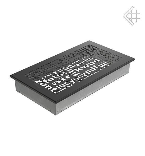Купить Kratki 17x30 ABC черная 30ABC/C в интернет магазине. Цены, фото, описания, характеристики, отзывы, обзоры